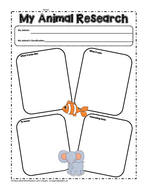 All Worksheets  Free Animal Habitat Worksheets