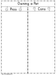 T Charts Worksheets