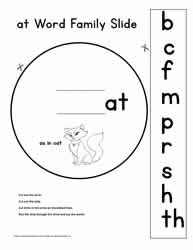 at Word Family Worksheets