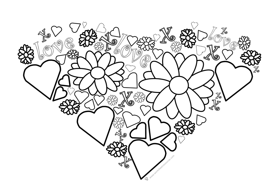 Valentines Day Activity Free Printable For Kids Writing