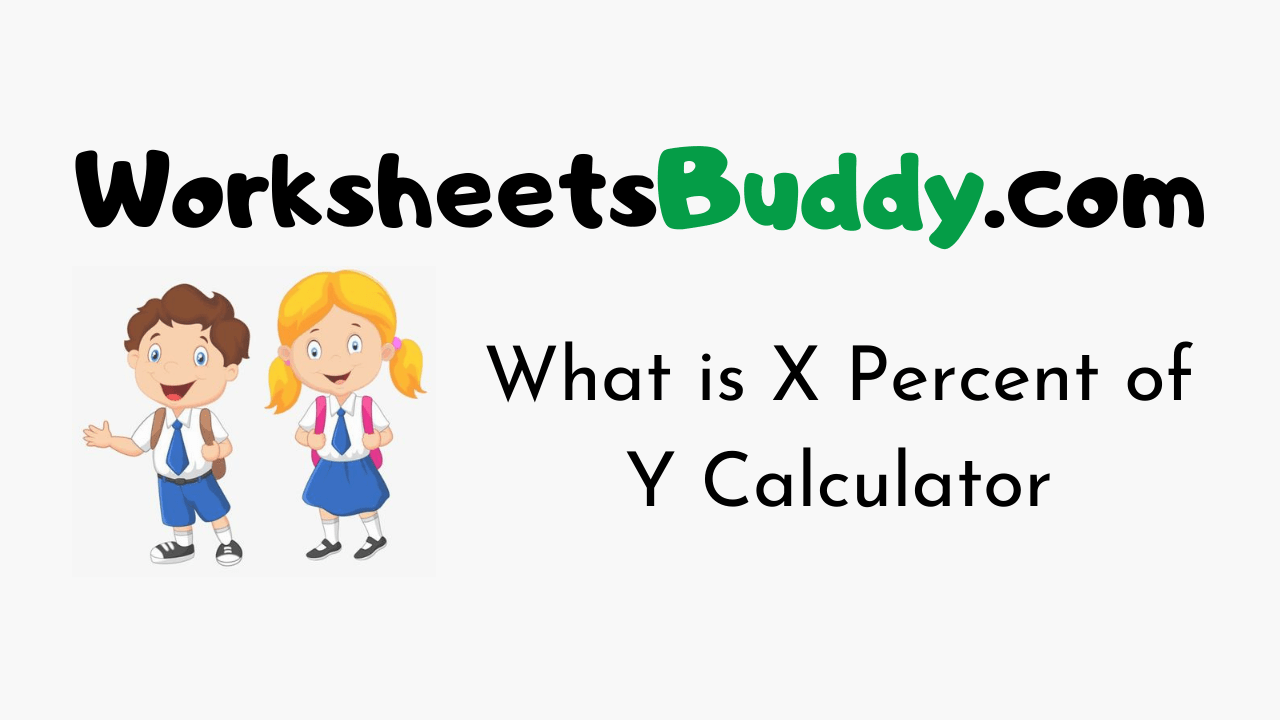 What is X Percent of Y Calculator