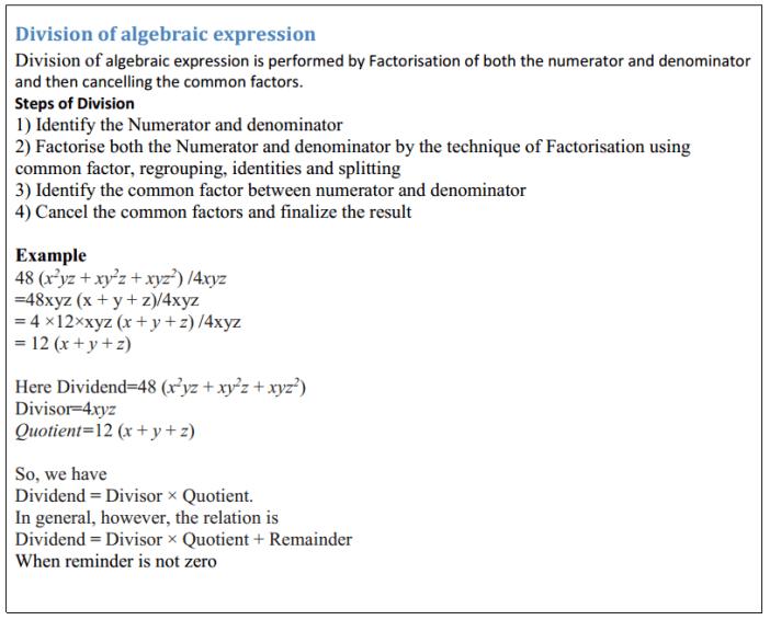 Factorisation Formulas Class 8 Q4