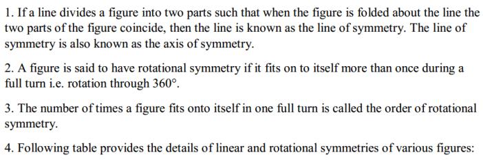 Symmetry Formulas for Class 7 Q1