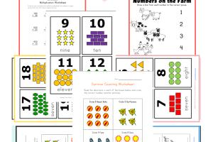 15+ Collection Top 10 Preschool Math Kids Activities Worksheets