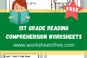 1st Grade Reading Comprehension Worksheets 3