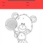 1st grade coloring worksheets 3