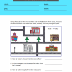 1st grade map worksheets 3