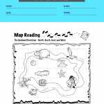 1st grade map worksheets 5