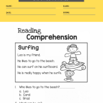 2nd grade reading comprehension worksheets multiple choice 2