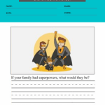 2nd grade writing prompts worksheets 4