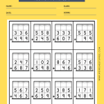 3 DIGIT ADDITION WORKSHEET WITH REGROUPING 5