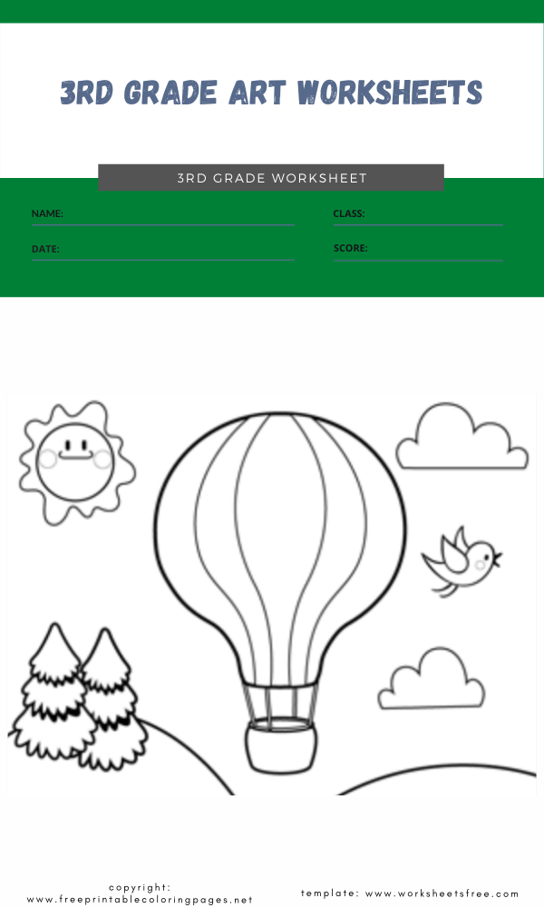 3rd grade art worksheets 2