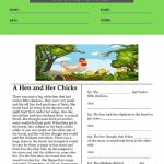 3rd grade comprehension worksheets 4