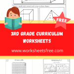 3rd grade curriculum worksheets