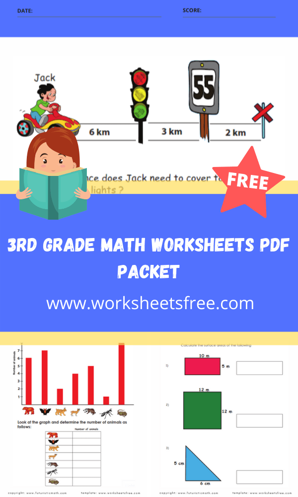 3rd grade math worksheets pdf packet