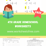 4th grade homeschool worksheets