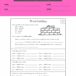 4th grade learning worksheets 2