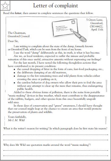 4th grade reading comprehension worksheets pdf 3