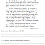 4th grade reading comprehension worksheets pdf 5