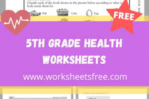 5th Grade Health Worksheets