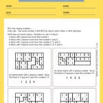 6th Grade Math and Critical Thinking Worksheets