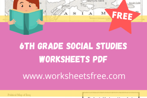 6th grade social studies worksheets pdf