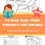 7th grade social studies worksheets free printable