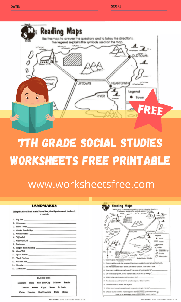 7th grade social studies worksheets free printable