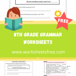 8th grade grammar worksheets