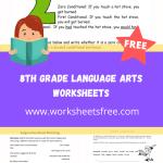 8th grade language arts worksheets