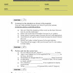9th grade english grammar worksheets29th grade english grammar worksheets2