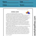 9th grade reading comprehension worksheets 1