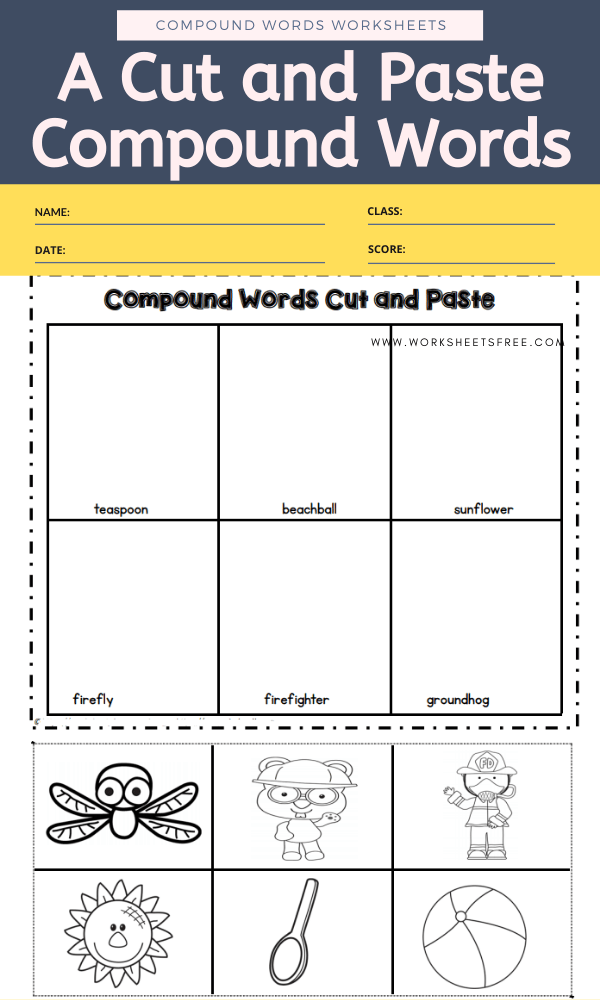 A Cut and Paste Compound Words