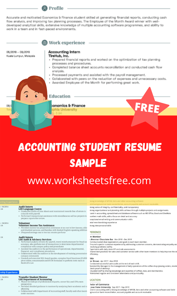 _Accounting Student Resume Sample