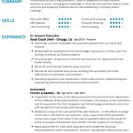 Accounts Executive Resume Example 4