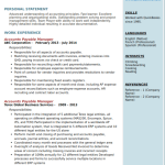 Accounts Payable Resume Sample 5
