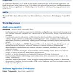 Application Development Analyst Resume Sample 4