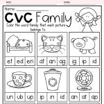CVC Family Worksheets