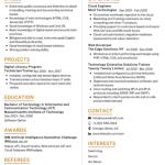 Cloud Computing Resume Sample 3