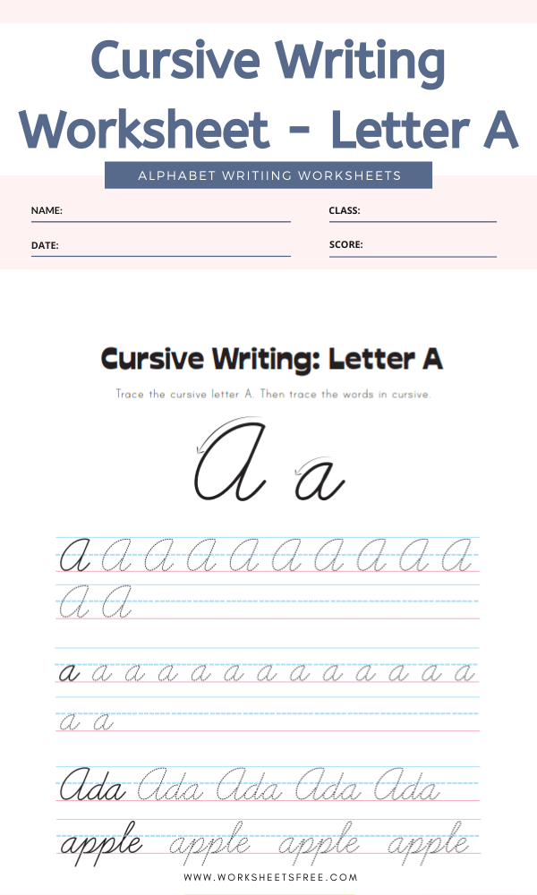 Cursive-Writing-Worksheet-Letter-A-Alphabet-Worksheets