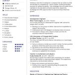 Development Engineer Resume Sample 4