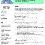 Digital Marketing Expert Resume Sample 5