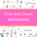 Find and Count Worksheets