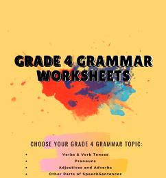 Grade 4 grammar worksheets   Worksheets Free [ 1920 x 1080 Pixel ]