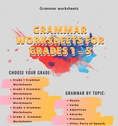 Worksheet On Grammar For Grade 1   robertdee.org [ 1920 x 1080 Pixel ]