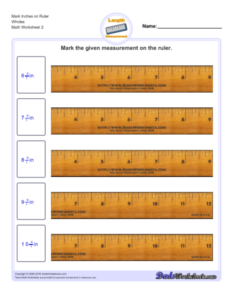 Inches Measurement
