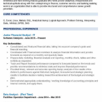 Junior Financial Analyst Resume 5