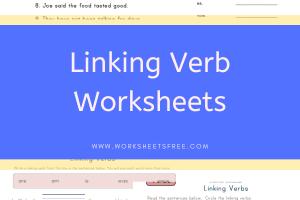 Linking Verb Worksheets