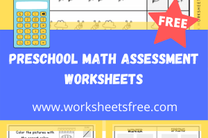 PRESCHOOL MATH ASSESSMENT WORKSHEETS