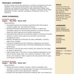 Portfolio Analyst Resume Example 1
